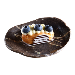 Eclair de Blueberry