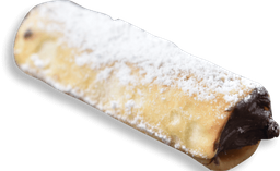 Cannoli de Chocolate com Avelã