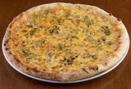 Pizza de Provolone com Azeitonas  - 35cm