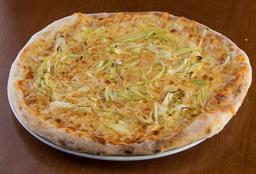 Pizza de Alho Poró com Tomate  - 35cm