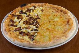 Pizza Salgada Meio a Meio - 35cm