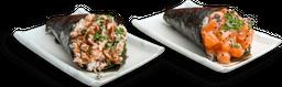 2 Temakis + 1 Sashimi Simples