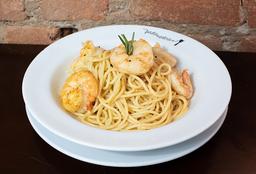 421 Spaghetti alla Gamberi e Limone