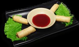 Harumaki camarão