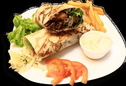 Shawarma Servido no Prato