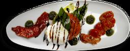 """Mozzarella di Bufala """"La Bufalina"""" con Pomodori in Tre Versioni"""