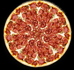 Pizza Calabresa Com Catupiry