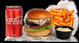 Burger Classic Angus 100g + Batata  + Refrigerante
