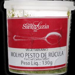 Molho Pesto Rúcula Santa Luzia Congelado 130 g