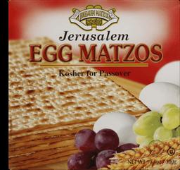 Pão Egg Matzos 300 g