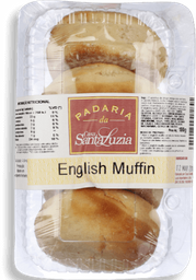 Pão Santa Luzia English Muffin 4 U