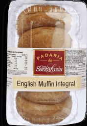 Pão Santa Luzia English Muffin Integral 4 U