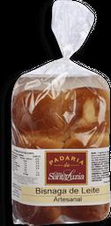 Pão Simples Bisnaga De Leite Pacote Com 6 140g