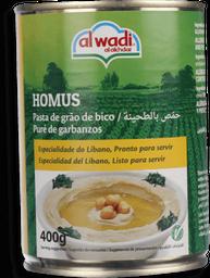 Pasta de Grão de Bico Libanês Homus Al Wadi 400g