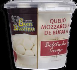 Queijo Mozzarella De Búfala Cereja Bom Destino Em Soro 160 g