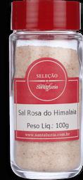 Sal Santa Luzia Rosa Himalaia Moido Vidro 100g