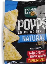 Snack Roots To Go Popps Natural 35g