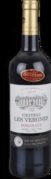 Vinho Chateau Les Vergnes Bordeaux Tinto 750 mL