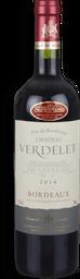 Vinho Chateau Verdelet Bordeaux Tinto 750 mL