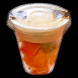 Salada de Frutas com Iogurte Caseiro