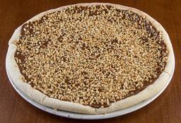 Pizza de Chocolate ao Leite com Castanha - 35cm