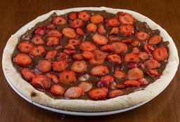 Pizza de Chocolate ao Leite com Morango - 35cm