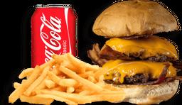 Burger + Fritas + Refri