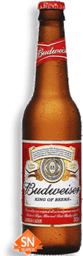 Cerveja Budweiser Long Neck 355 mL