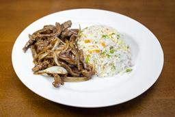 Carne Acebolada para 3 Pessoas + Refri 1L Grátis