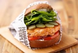 Hamburger de Salmão