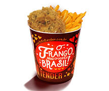 Balde Frango Hot Crocantes