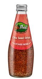 BeThai Chia Seed Drink Lichia Rosa 290ml (Bebida de Semente de C