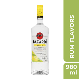 Rum Bacardi Limon 750 mL