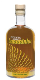 Cachaça D'Gusta Bananinha 750 mL