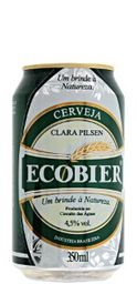 Cerveja Ecobier Lata 350 mL
