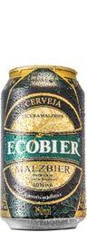 Cerveja Ecobier Malzibier Lata 350 mL