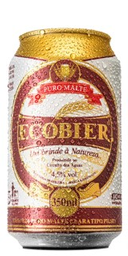 Cerveja Ecobier Puro Malte Lata 350 mL