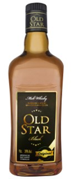 Wisky Old Star Black Mate 1 L