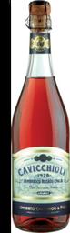Vinho Lambrusco Cavicchioli Dell Emilia Rose Suave 750 ml