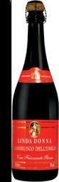 Vinho Lambrusco Linda Donna Frisante Rosso (Tinto) 750 ml