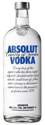 Vodka Absolut Natural 1 L