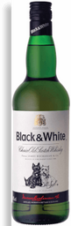 Whisky Black & White 1 L