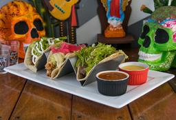 Tacos de Carne Cubo