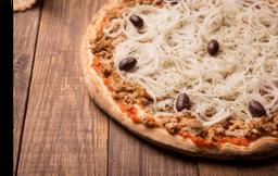 Pizzas Grande Salgada Meio a Meio