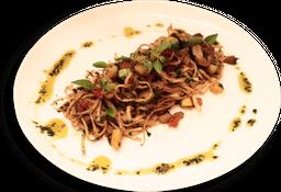 Spaghetti Pupunha Com Shimeji