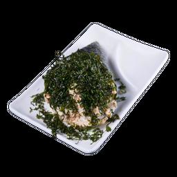 Temaki Salmão Empanado com Couve