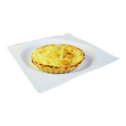 Quiche Brie com Damasco