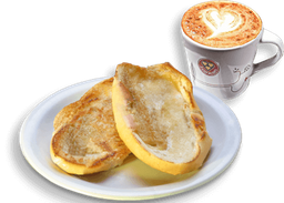 Pão na Chapa + Café