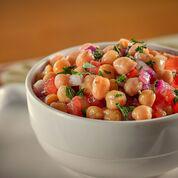 Salada de Grão de Bico Meia Porção