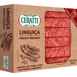 Linguiça Cerati Pimenta Biquinho 500g